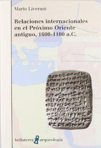 Relaciones internacionales Próximo Oriente (Arqueologia (bellaterra))