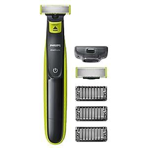 Philips QP2520/30 OneBlade avec lame de rechange + 3 sabots barbe