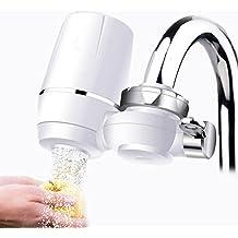 Wasserhahn Wasserfilter, EgoEra® 8 Schicht Leitungswasser Filter / Wasseraufbereiter Trinkwasser / Wasserfilter Wasserreiniger für die Küche mit Keramischen Filterpatrone