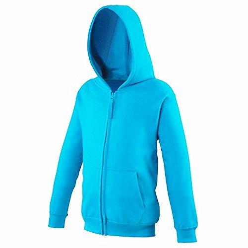 AWDis Herren Reißverschluss Kapuzen Pullover Jacke Marineblau
