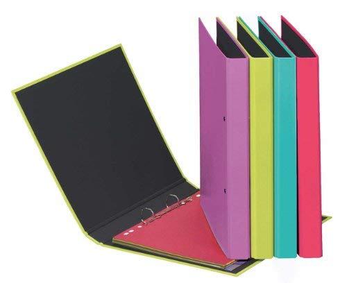 Pagna A2040100 Trend Colours-Raccoglitore ad anelli, formato A5, colorei (O1f)