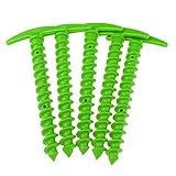 Baoblaze 5 Teile/Paket 14,5 cm Zeltnagel, Zeltpflock, Erdnagel, Erdanker aus Kunststoff - Grün