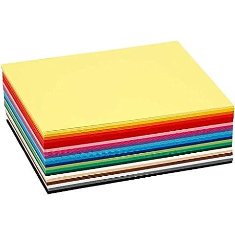 Creativ Colortime 120 pièces de Papier cartonné Couleurs