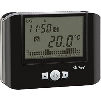 vimar 02906 termostato touch screen gsm da parete 230v