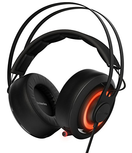 SteelSeries Siberia 650, Gaming Headset, Dolby 7.1 Surround Sound, RGB Illumination, Software Management, (PC / Mac) - Black