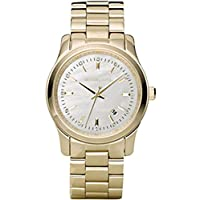 Michael Kors Runway Women's White Dial Stainless Steel Band Watch - MK5303