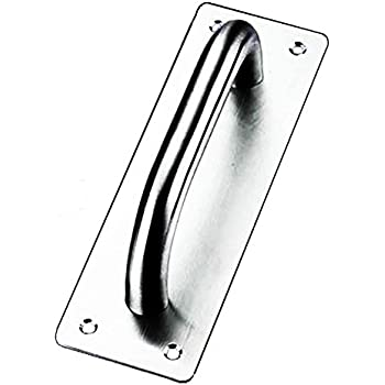 """6/"""" 150mm BOW DOOR PULL HANDLE Brass Chrome FROM £3.49"""