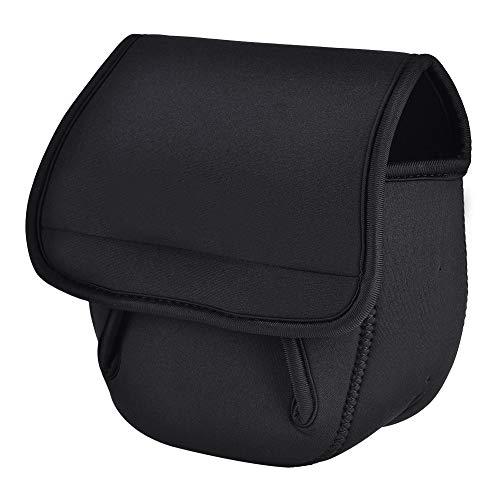 Alomejor Angelrolle Tasche Spinnrad Tasche Reel Bag Angelrute Gear Tackle Tool Tragetasche Carrier Reisetasche Aufbewahrungstasche(L)