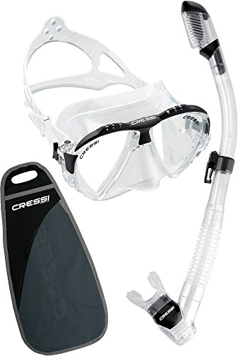 Cressi Matrix & Supernova Dry, clear/black -