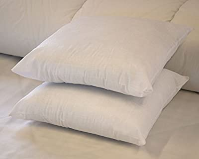"18"" x 18"" Luxury Hollowfibre Cushion Pads / Inners - Padded from corner to corner! From Lancashire Bedding - cheap UK light store."