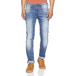 Pepe Jeans Men's Skinny Fit Jeans (PM204324G21_Blue_32W x 32L)