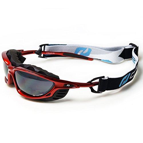 Daisan Elite blau verspiegelte Sportbrille Sonnenbrille Radbrillen