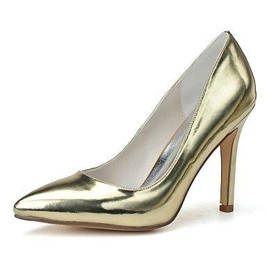 RTRY Donna Mocassini &Amp; Slip-Ons Scarpe Formali Primavera Estate Brevetto Abito In Pelle Stiletto Heel Argento Oro Nero 3A-3 3/4In US11 / EU43 / UK9 / CN44