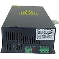 NEWTRY W120 - Lámpara de tubo láser (fuente de alimentación/grabador láser, máquina de cortar grabado)