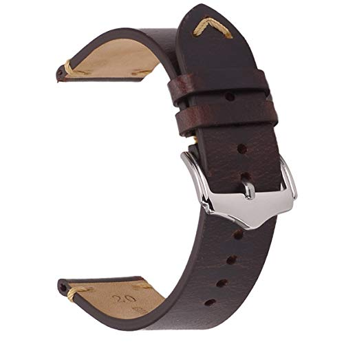 71111297d877 Leather watch straps the best Amazon price in SaveMoney.es
