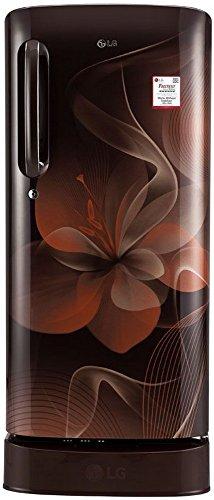 LG 190 L 4 Star Direct-Cool Single Door Refrigerator (GL-D201AHDX.AHDZEBN,...