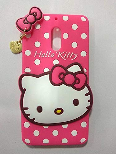 4 Season Cartoon Hello Kitty Rubber Soft Back Cover for Nokia 6.1