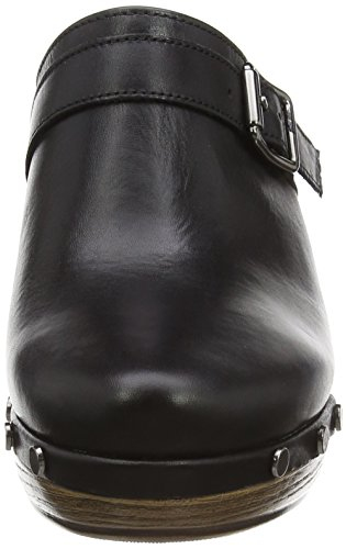 Gabor Mirabel, Sabots femme Noir - Noir (cuir noir)