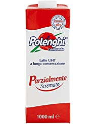 Polenghi, Parzialmente Scremato, Latte UHT a Lunga Conservazione - 1 Litro