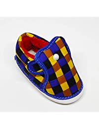 LOOKKS Kid's Multi-Coloured Canvas Shoes