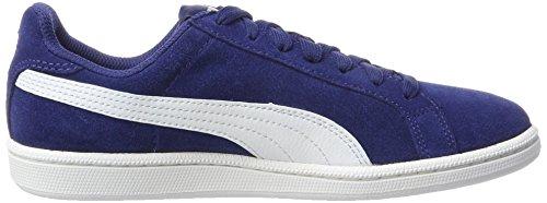 Puma Smash SD, Unisex-Erwachsene Sneaker Blau (Blue Depths-White)