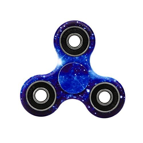Preisvergleich Produktbild Saingace Fidget Spinner Hand Spinner Fokus Spielzeug EDC Fidget Spinner Spielzeug (H)