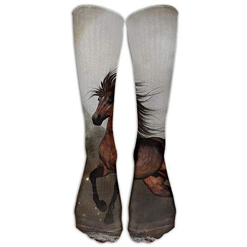 Integrity merchant Awesome Horse Animal Athletic Tube Stockings Women Men Classics Knee High Socks Sport Long Sock One Size Animal Print Tube Dress
