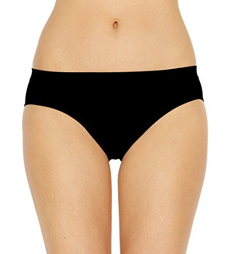 Slip in microfibra pompea feel set 6 pezzi (l/xl, nero)