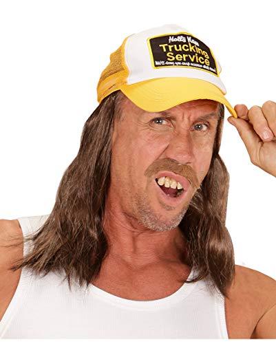 Horror-Shop Lastwagenfahrer - Trucker Hut mit Langen ()