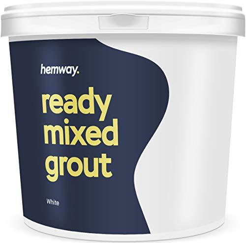 Hemway Mörtel/Fugenmörtel, 4,5 kg, 2,5 l, weiß -