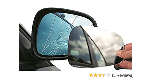 Summit Replacement Mirror Glass With Backing Plate Fits on rhs of vehicle
