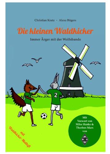 Die kleinen Waldkicker - Immer Ärger mit der Wolfsbande (grün-schwarz-weiß)