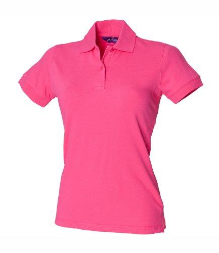 Henbury -  Polo  - Donna rosa fucsia