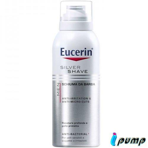 Schiuma Da Barba Lenitiva Per Pelli Sensibili Eucerin Men Silver Shave 150 Ml