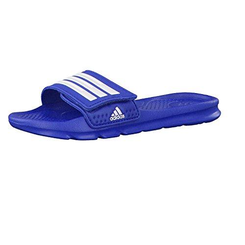 adidas Kinder Halva 4 CF K Badesandalen, Azul / Blanco (Eqtazu / Ftwbla / Eqtazu), 32 EU