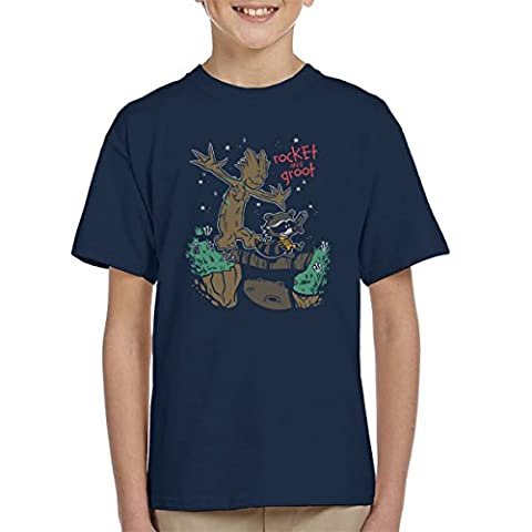 Guardians Of The Galaxy Rocket And Groot Kid's