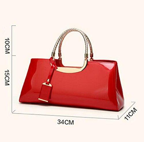 Art Und Weisehandschuh-Handtaschen-Dame-Schulter-Beutel-Beutel-Beutel-Abend-Beutel Pink