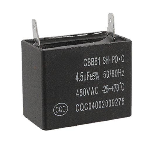 Dimart 4.5uF 5% 450V AC Air Conditioner Fan Motor Start Capacitor CBB61