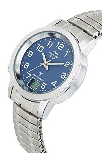 Master Time Funk Quarz Damen Uhr Analog-Digital mit Edelstahl Armband MTLA-10492-32M - 2