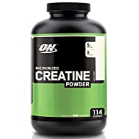 Optimum Nutrition Micronized Creatine Monohydrate Powder, Unflavored, Keto Friendly, 114 Servings, 600 G