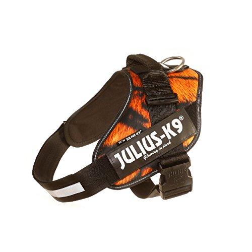 Julius-K9, 16IDC-TIG-1, IDC-Powergeschirr, Hundegeschirr, Größe: 1, Tiger