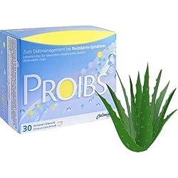 PROIBS® - Bei Reizdarm & Bauchbeschwerden (Bauchschmerzen, Blähungen, Durchfall oder Verstopfung) mit Aloe Vera - 30 Beutel á 3.000mg - 100% Vegan