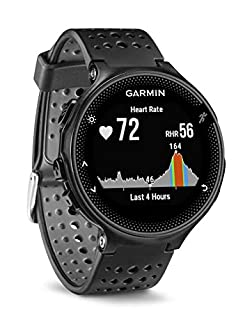 Garmin Forerunner 235 GPS Running Watch with Elevate Wrist Heart Rate and Smart Notifications, Black/Grey (B016ZWT64M) | Amazon price tracker / tracking, Amazon price history charts, Amazon price watches, Amazon price drop alerts