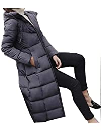 hot sale online b0845 dd1ed Abbigliamento Donna Sportivo Piumini Lunghi Amazon it 0tcqX