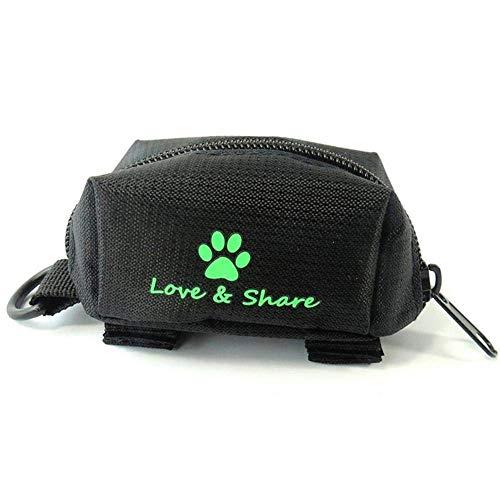 Chanhan Hundekotbeutelspender, Hundekotbeutelhalter für Hundekotbeutel, zum Spazierengehen, Laufen, Wandern