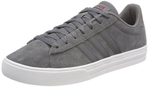 adidas Herren Daily 2.0 Fitnessschuhe, Grau (Gricua/Gricin/Ftwbla 000), 48 EU - Adidas Herren Basketball Schuh