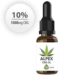 Alpex-cbg (10ml) Premium Cannabigerol Essenz ÖL Cb-1 Und Cb-2 Aktivator
