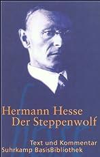 Der Steppenwolf (Suhrkamp BasisBibliothek)