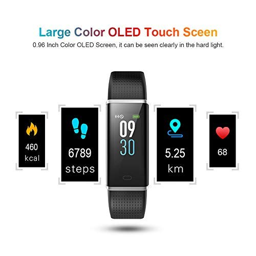 Zoom IMG-2 lintelek fitness tracker watch schermo