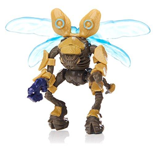 1x Mega Bloks Halo Foxtrot Series gold gelb Drone Covenant Mini-Figure Minifigur rot
